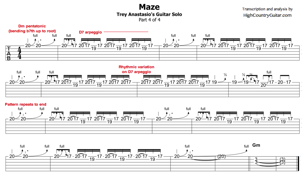 Maze solo pt. 4